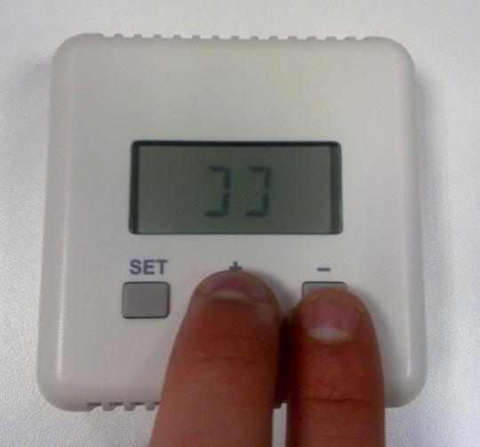 ts10 programmation thermostat