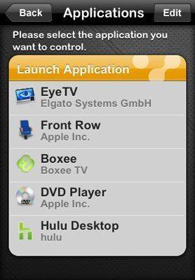 voomote Utilisez votre iPhone comme une télécommande