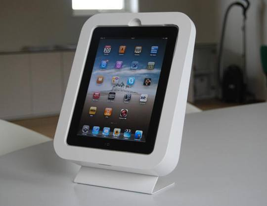 ipad arodsinredningar01 Des supports muraux pour liPad et iPod Touch