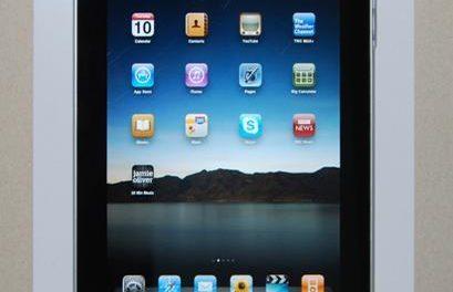 Des supports muraux pour l'iPad et iPod Touch
