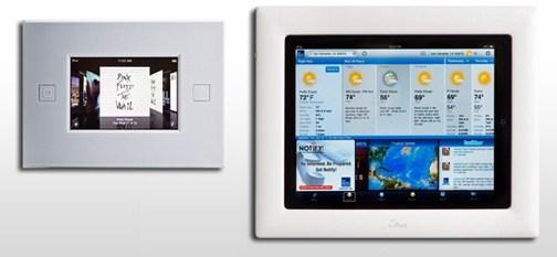 ipad iport Des supports muraux pour liPad et iPod Touch