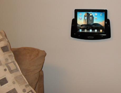 ipad padholdr Des supports muraux pour liPad et iPod Touch