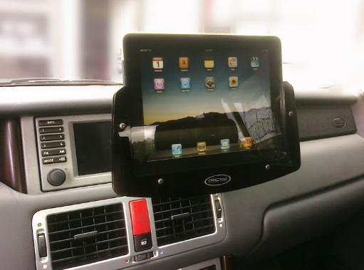 ipad padholdr car