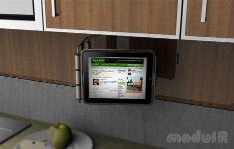 modulr ipad case Des supports muraux pour liPad et iPod Touch