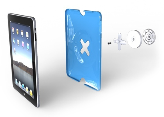 wallee wall mount ipad Des supports muraux pour liPad et iPod Touch
