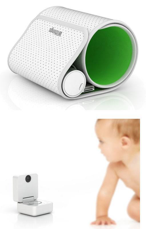 withings tensiometre baby monitor intelligent ces2011