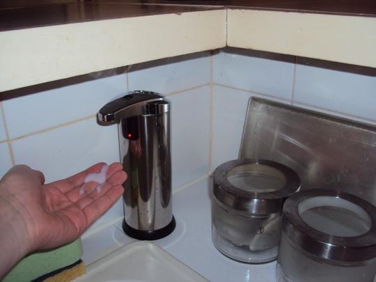 zyx 01e distributeur savon automatique main