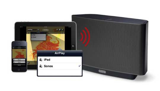 sonos airplay