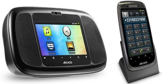 archos home connect smart home phone 35