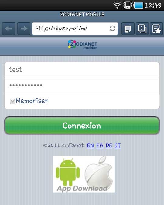 zodianet zibase android 03