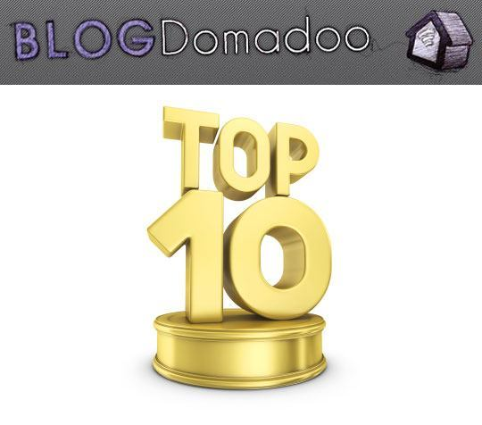 blog domadoo top10 2011