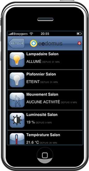 eedomus iphone