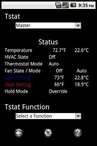 remote thermostat pro proliphix imt350 550 android
