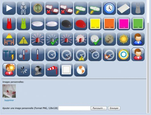 eedomus maj icones