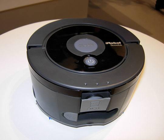 irobot scooba 230 INNOROBO 2012 : iRobot présente 2 nouveaux Scooba