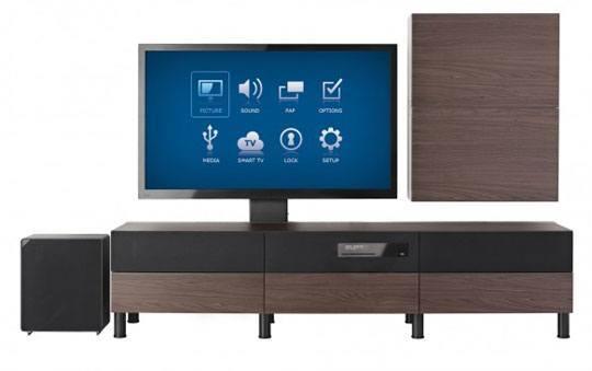 Un Meuble Avec Tv Integree Chez Ikea News Domotiques By Domadoo