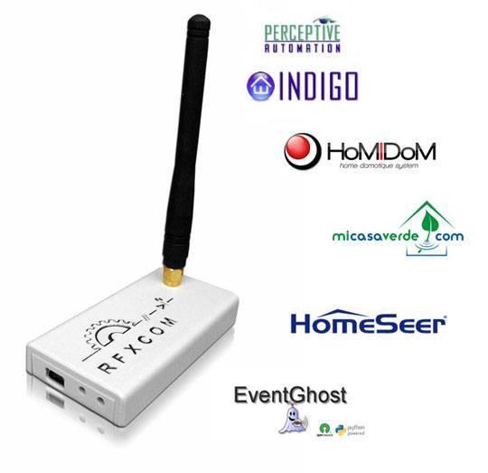 rfxcom rfxtrx433 12103 homeseer micasaverde indigo eventghost homidom RFXtrx433 : La liste des logiciels compatibles sélargit