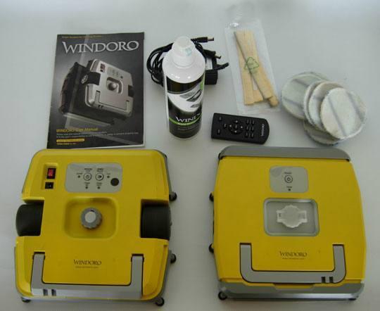 eziclean windoro02 TEST : Robot laveur de vitre Windoro
