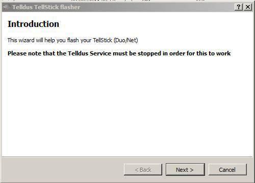 tellstick maj firmware02
