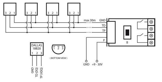 fibaro fgbs 001 schema 1 wire