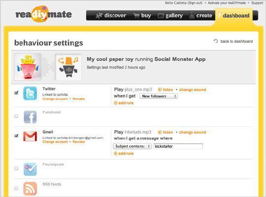 readiymate app settings
