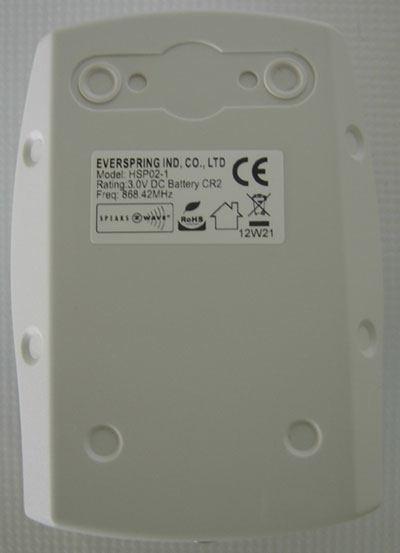 everspring hsp02 installation dos attache