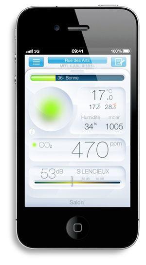 netatmo app iphone indoor