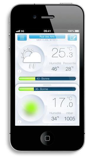 netatmo app iphone main