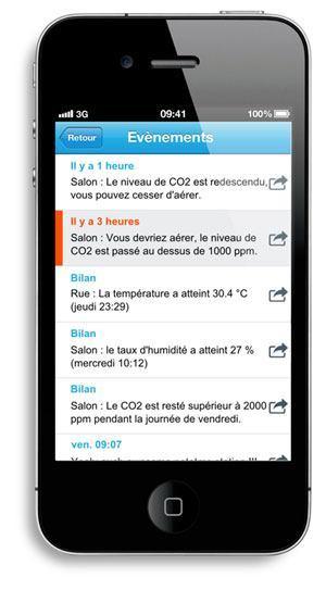 netatmo app iphone timeline