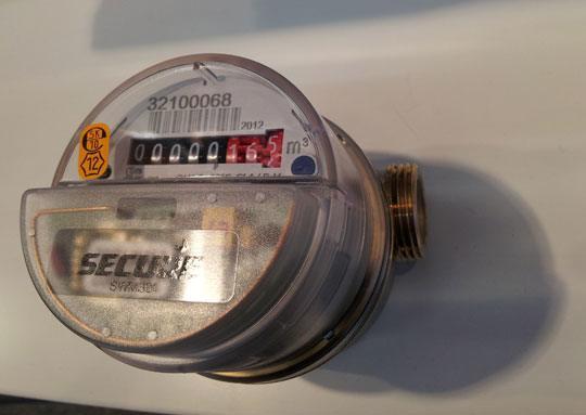 smarthomes secure z wave water meter pulse