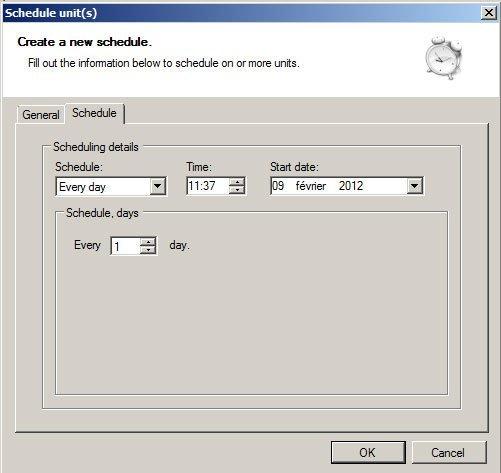 telldus utilisation scheduler 07