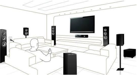 wisa schema home theater