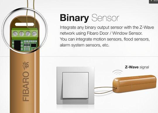 fibaro fgk binary sensor Fibaro lance un nouveau capteur Z Wave