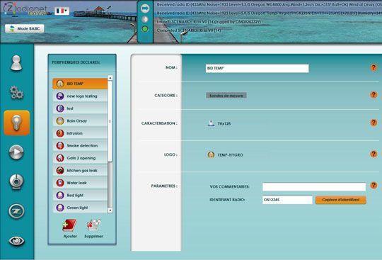 zibase nouvelle interface03 Le nouveau configurateur ZiBASE est lancé sur le serveur du ZiBASE Club !