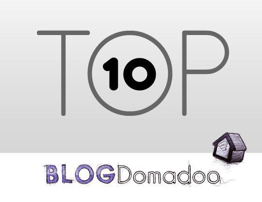 blog domadoo top10 2012