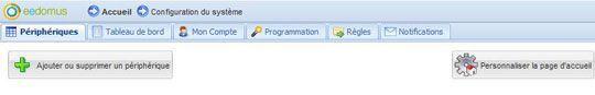eedomus 18 12 2012 personnalisation