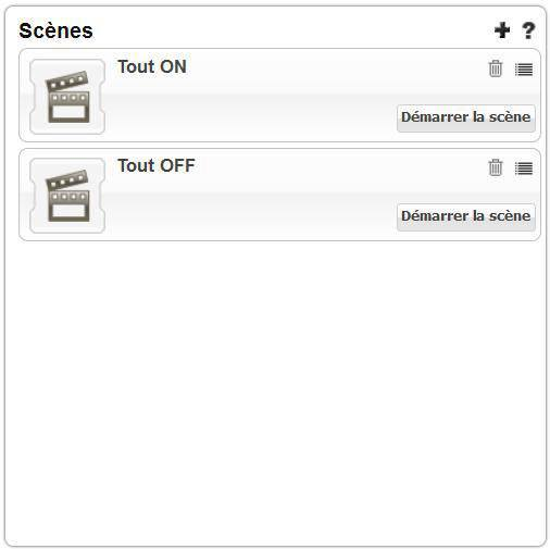 zipabox dasbboard scenes Zipabox : Présentation de linterface web