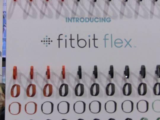 fitbit flex ces2013 01 Fitbit annonce son bracelet
