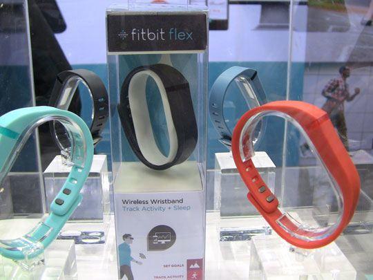 fitbit flex ces2013 02 Fitbit annonce son bracelet