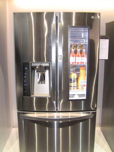 lg frigo ces2013 La maison connectée vue par LG