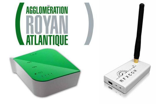 royan rfxtrx433 rfxcom vera Utilisation d'une VeraLite dans le cadre d'une surveillance de salle informatique