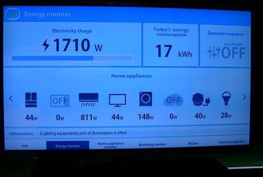 toshiba smart home screen