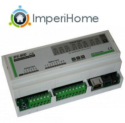 imperihome v1.6 ipx800v3 ImperiHome V1.6 disponible sur Google Play