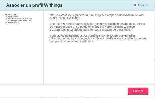 withings fitbit 003 Utilisez votre balance Withings avec votre compte Fitbit