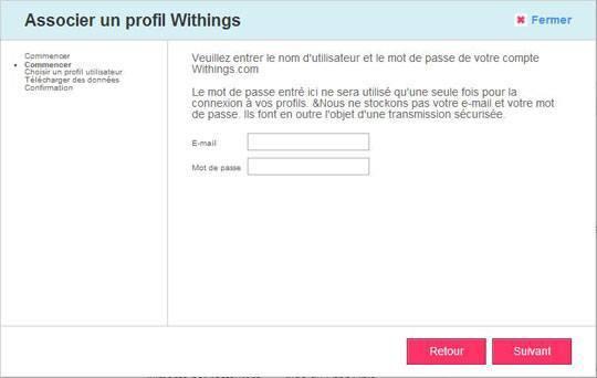 withings fitbit 004 Utilisez votre balance Withings avec votre compte Fitbit