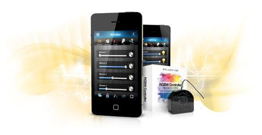 Fibaro rgb module iphone