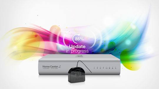 Fibaro rgb module wireless update