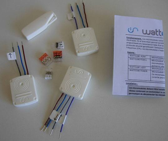 Wattlet test pack