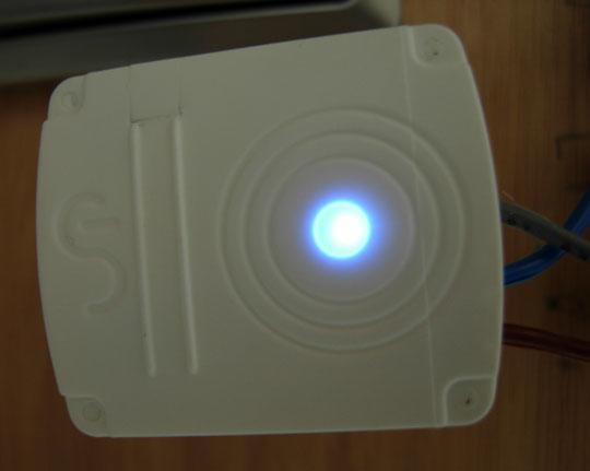 Wattlet test wattcube led bleu