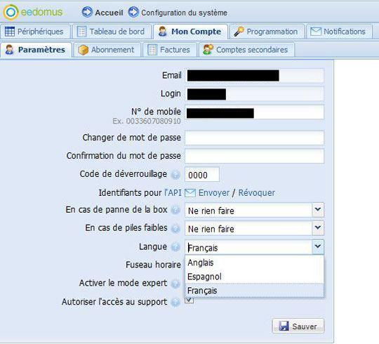 eedomus multilingue 04 06 2013
